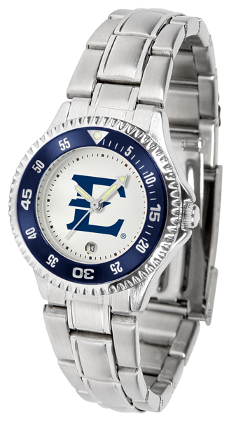 Suntime  East Tennessee State Buccaneers Ladies Competitor Steel Watch