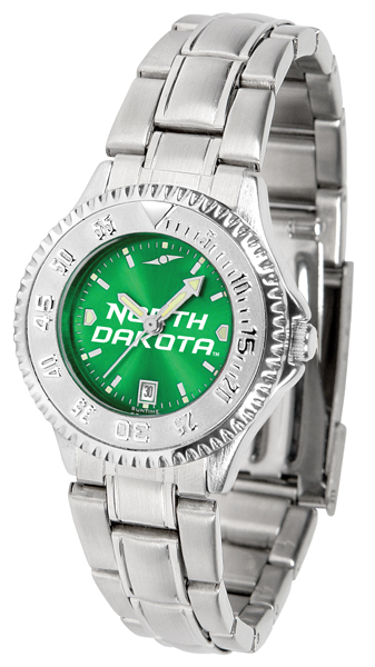 Suntime North Dakota Fighting Sioux Ladies Competitor Steel AnoChrome Watch at Sears.com