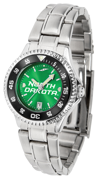 Suntime North Dakota Fighting Sioux Ladies Competitor Steel AnoChrome CB Watch at Sears.com
