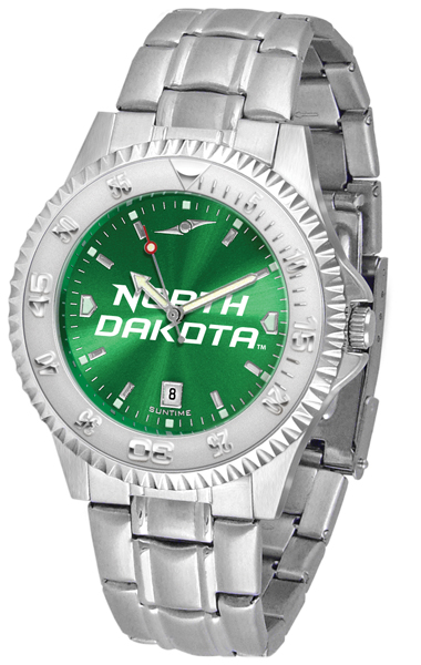 Suntime North Dakota Fighting Sioux Competitor Steel AnoChrome Watch at Sears.com