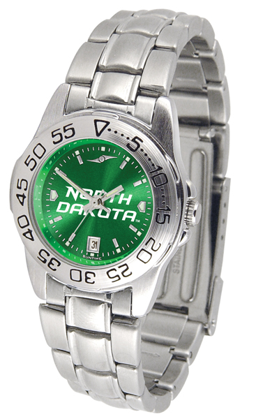 Suntime North Dakota Fighting Sioux Ladies Sport Steel AnoChrome Watch at Sears.com