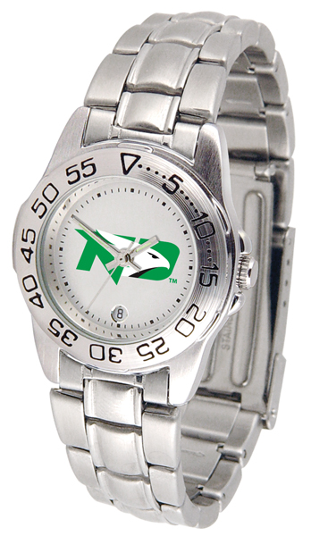 Suntime North Dakota Fighting Sioux Ladies Sport Steel Watch at Sears.com