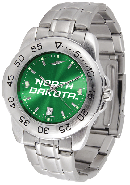 Suntime North Dakota Fighting Sioux Sport Steel AnoChrome Watch at Sears.com